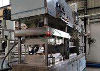 Pulp Thermoforming Tableware Production Line / Bgasse Fiber Plate Molding Machine